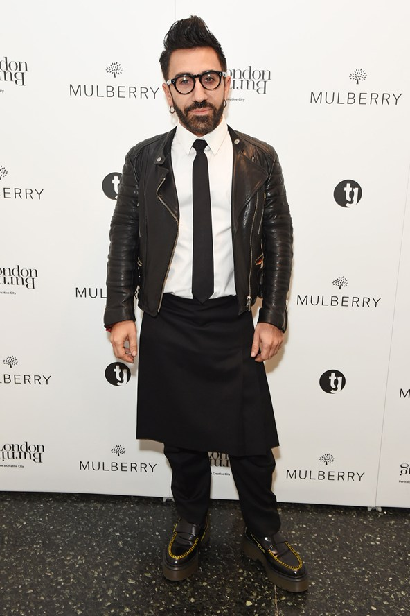 Mulberry creative director Johnny Coca hosts the launch of new book, London Burning, which feature profiles of some of the capital's most notable talents from the worlds of fashion, film, theatre and design.