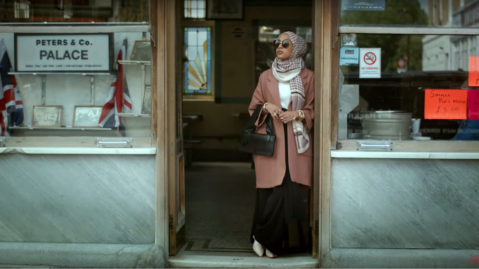 Mariah Idrissi, 23, is the first female Muslim model to be featured in an advert by retail giant H&M.