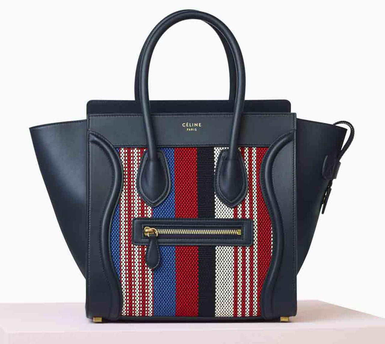 After originally applying for legal copyright protection of its infamous Luggage Tote, Celine has been awarded the Trade Dress protection, a reference to the characteristics of the visual appearance of a product or its packaging that communicate to consumers its origin. Protection of the shape and appearance will hopefully deter counterfeiters.