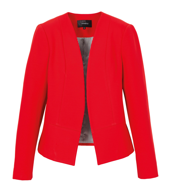 6079327 Whistle Ponte Jacket Scarlet Red $109.99 Instore Feb 08 2016