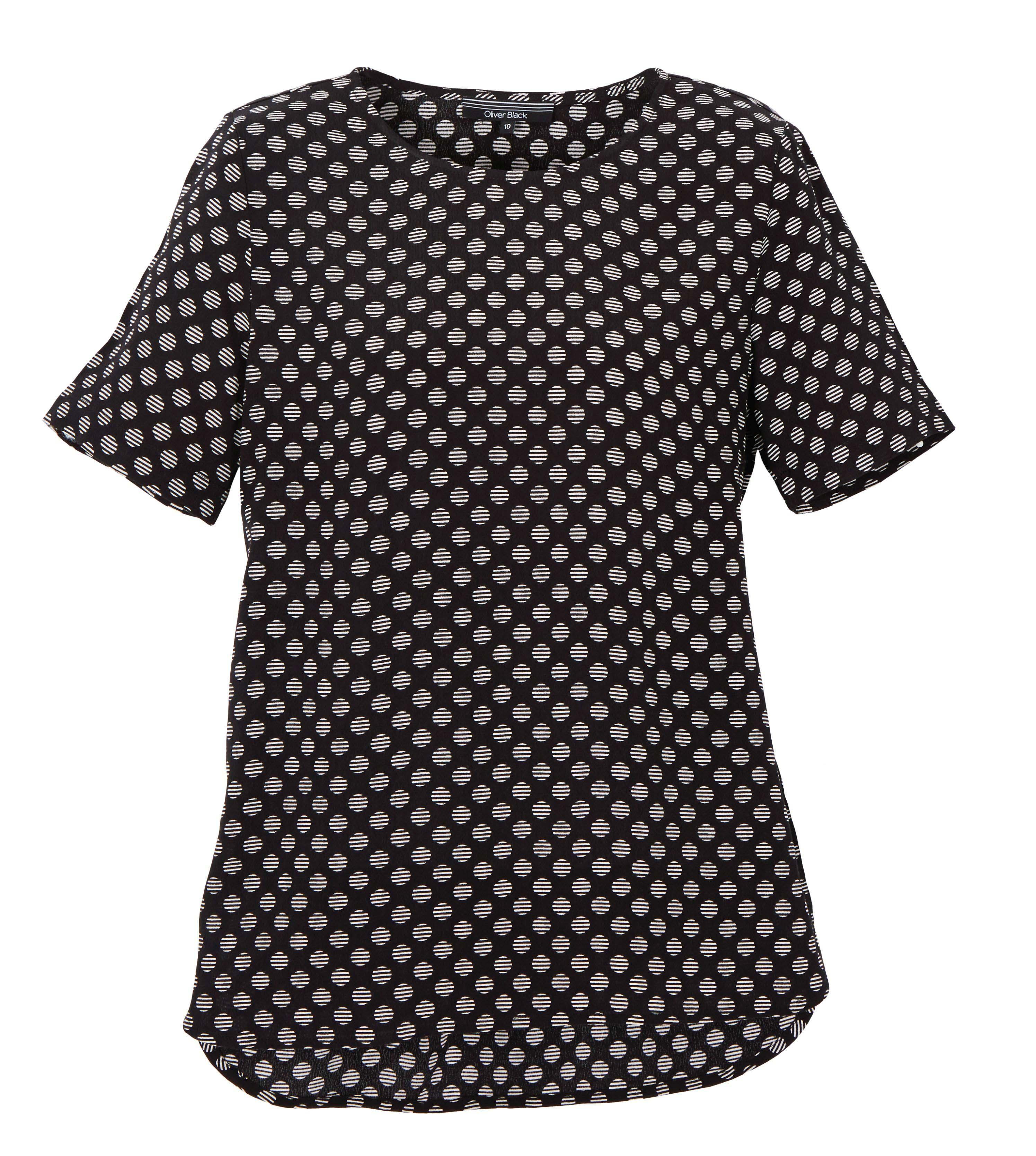 6086766 Oliver Black Dress Knit Printed $89.99 Instore March 20 2016