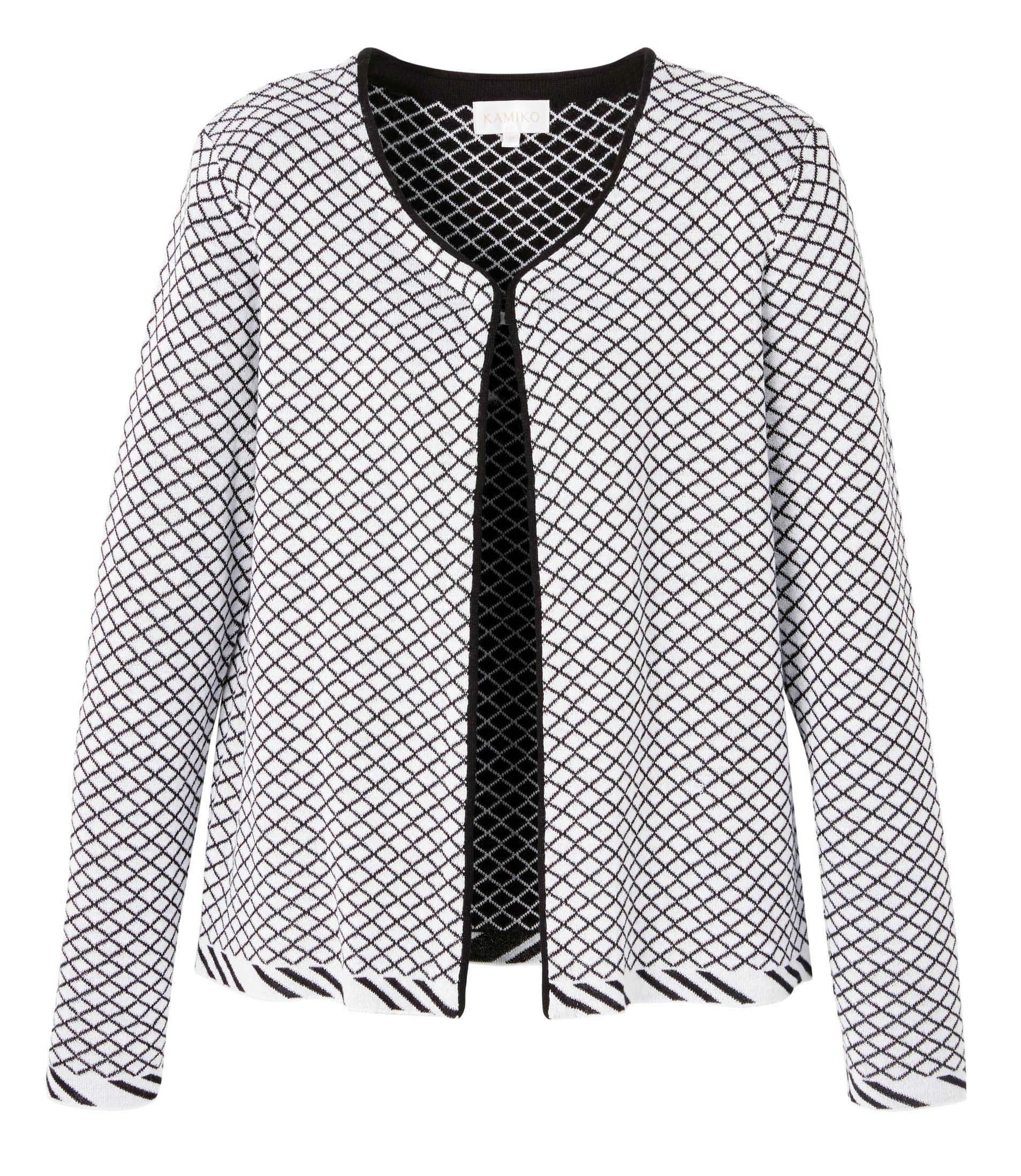 6092617 Kamiko Diamond Pattern Cardigan $119.99 Instore 3 Mar 2016