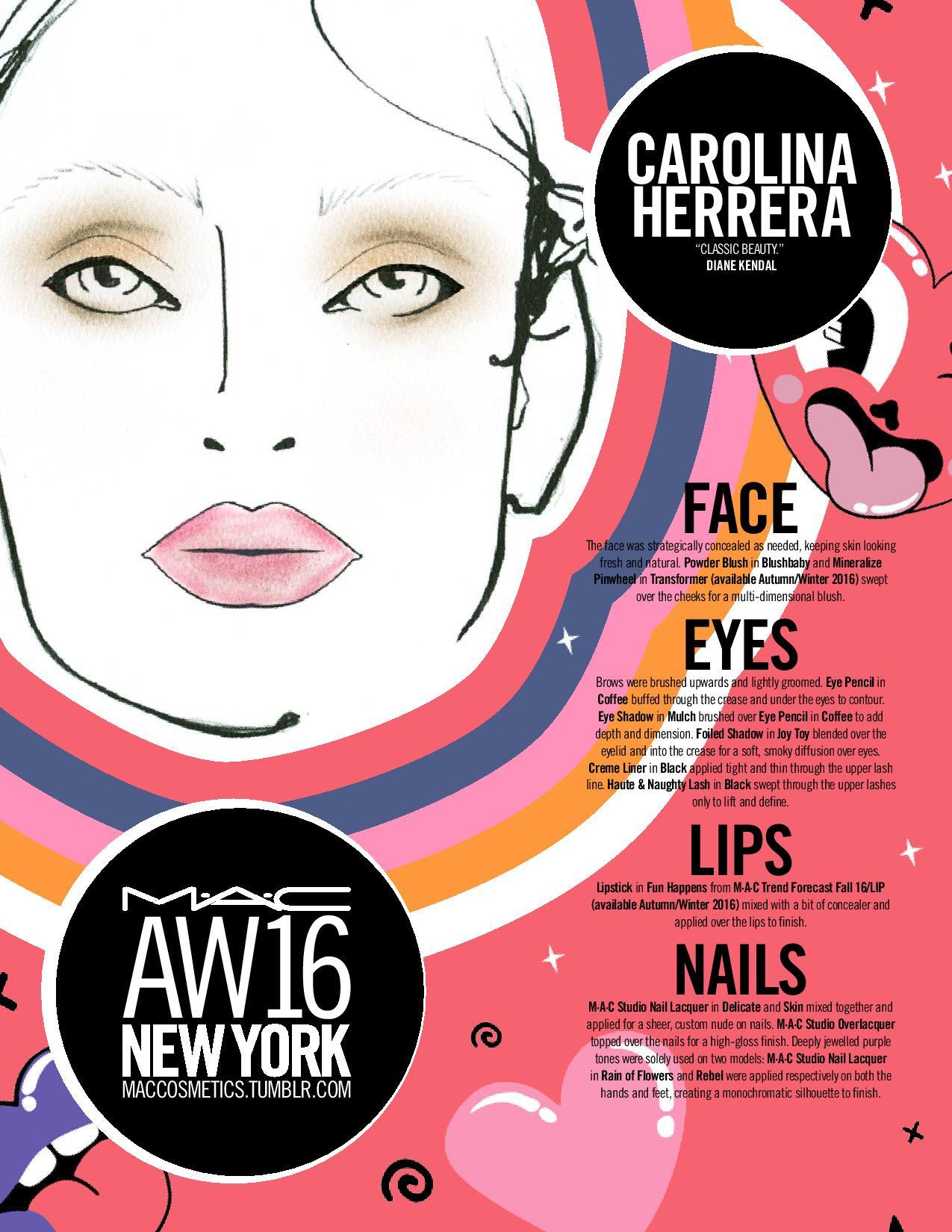AW16_DAILY FACECHART_NEW YORK_FEB 15 Carolina Herrera, Jeremy Scott, Rag...-page-002