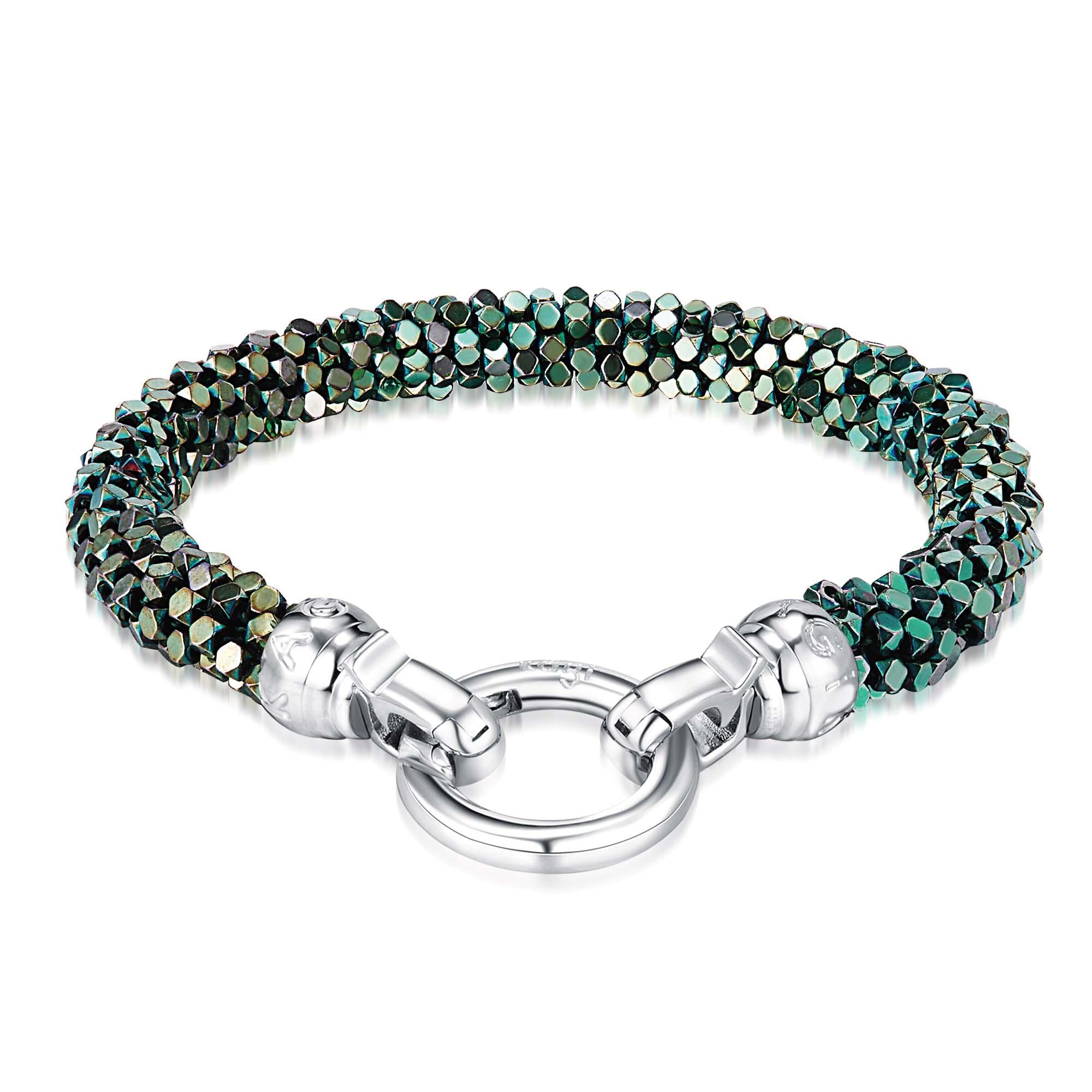 Kagi Blue Danube Weave Bracelet $169 www.kagi.net