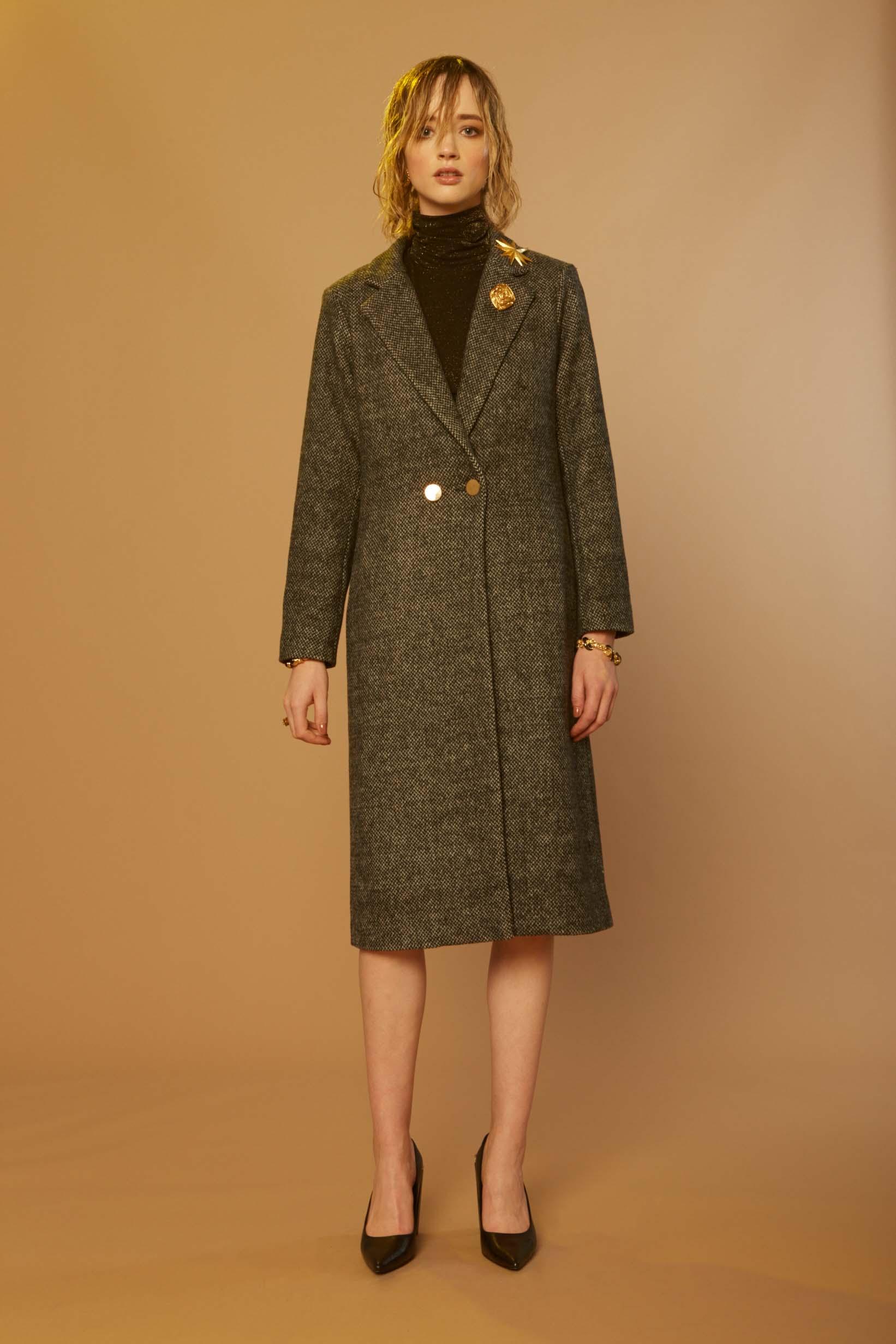 Liam Melisma Coat & Galaxy Turtleneck