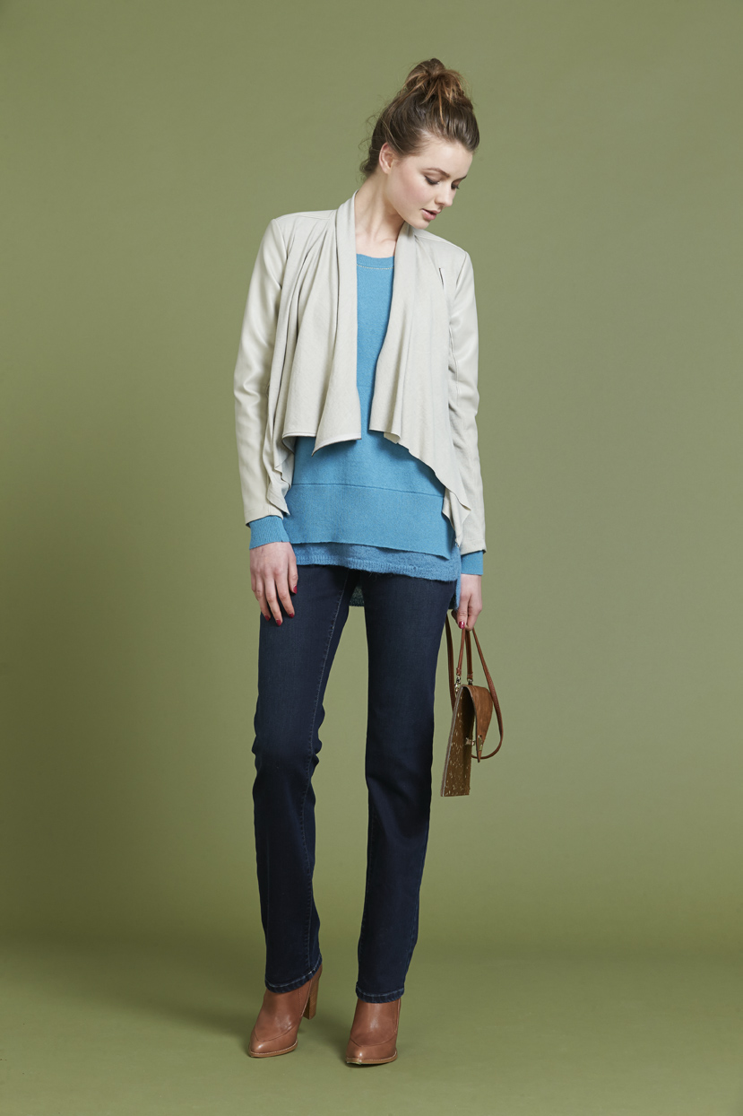 Page 14 LS980 Helena Jackte LSK192 Svetlana Sweater S987 Luxe Classice Jean