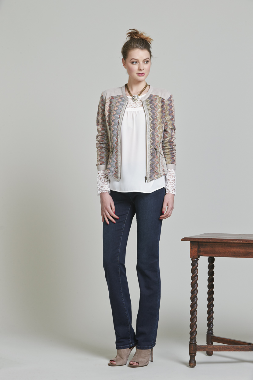 Page 26 LS904 Panorama JAcket LS948 Amaretti Blouse LS987 Luxe Classic Jean