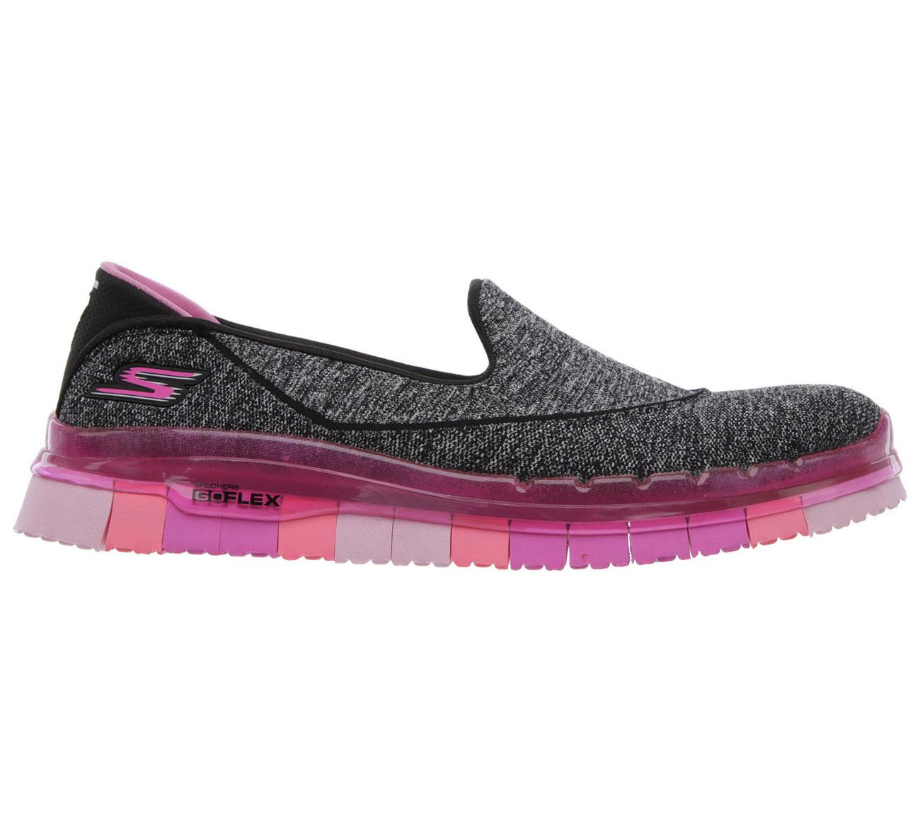 Skechers-Go Flex Slip On-BKHP-$149.90