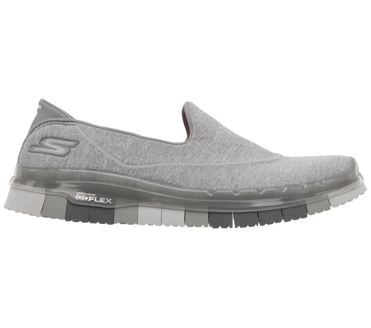 Skechers-Go Flex Slip On-GRY-$149.90