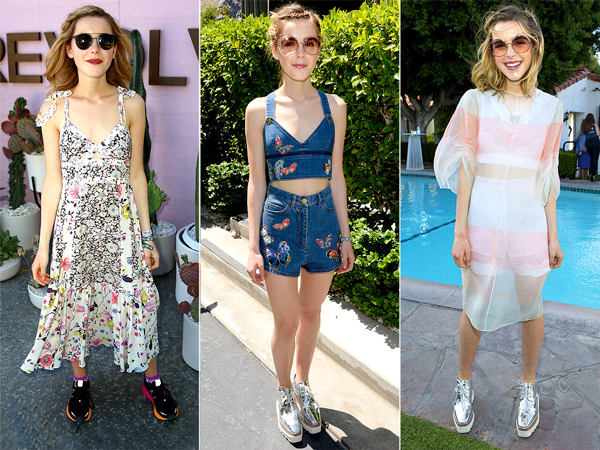 Coachella 2016 - Kiernan Shipka may be 16 years old, but she's not like any other teenager on the planet. While most teens hit the mall, shopping stores like Forever 21 and H&M, for their fringe and jorts, for Shipka it's all high-end all the time. In fact, three of the outfits she sported throughout the weekend racked in at a grand total of $13,584.99. You read that right.