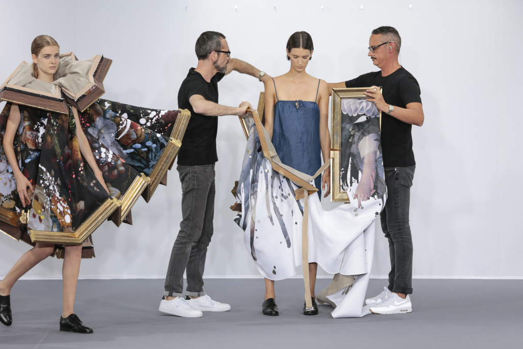 """The National Gallery of Victoria in Melbourne is to showcase the creations of Viktor and Rolf. A new exhibition titled """"Viktor & Rolf: Fashion Artists"""" is set to open to the public on Oct. 21, exploring the notion of wearable art."""