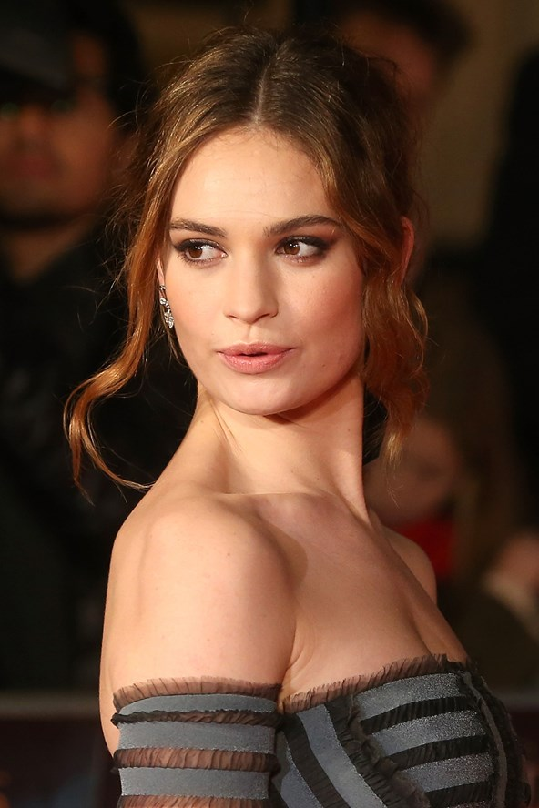 Lily James is to be the new face of Burberry's pillar fragrance family, My Burberry, taking the place of current faces Kate Moss and Cara Delevingne.