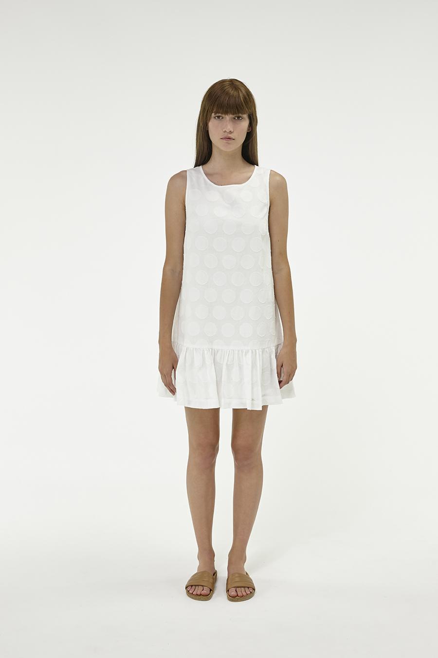 Huffer_Q3-16_W-Spot-Port-Dress_White-01