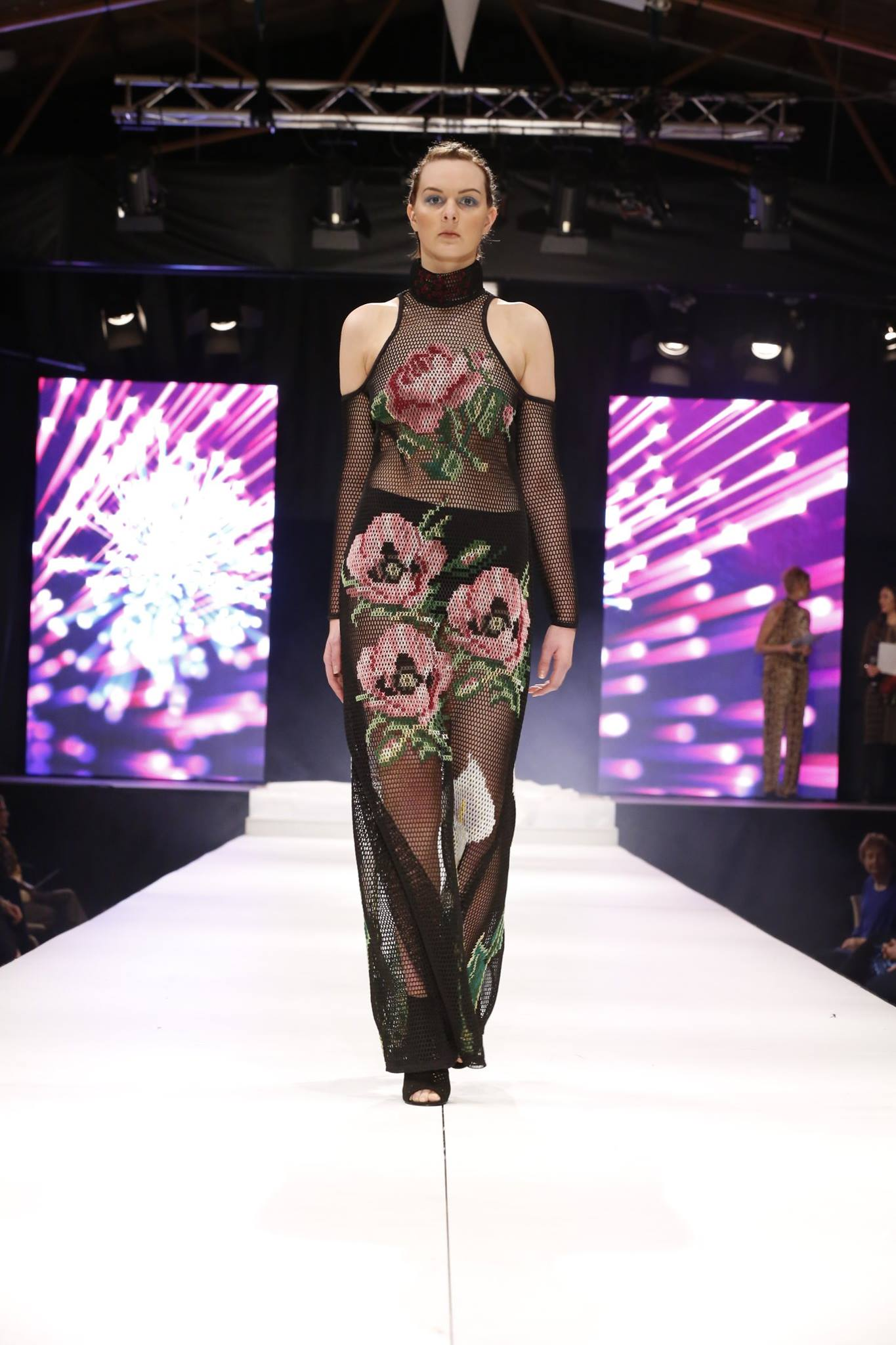 Hokonui Fashion Design Awards came to a close in the weekend with Andre Johnston presented with the Award of Excellence.