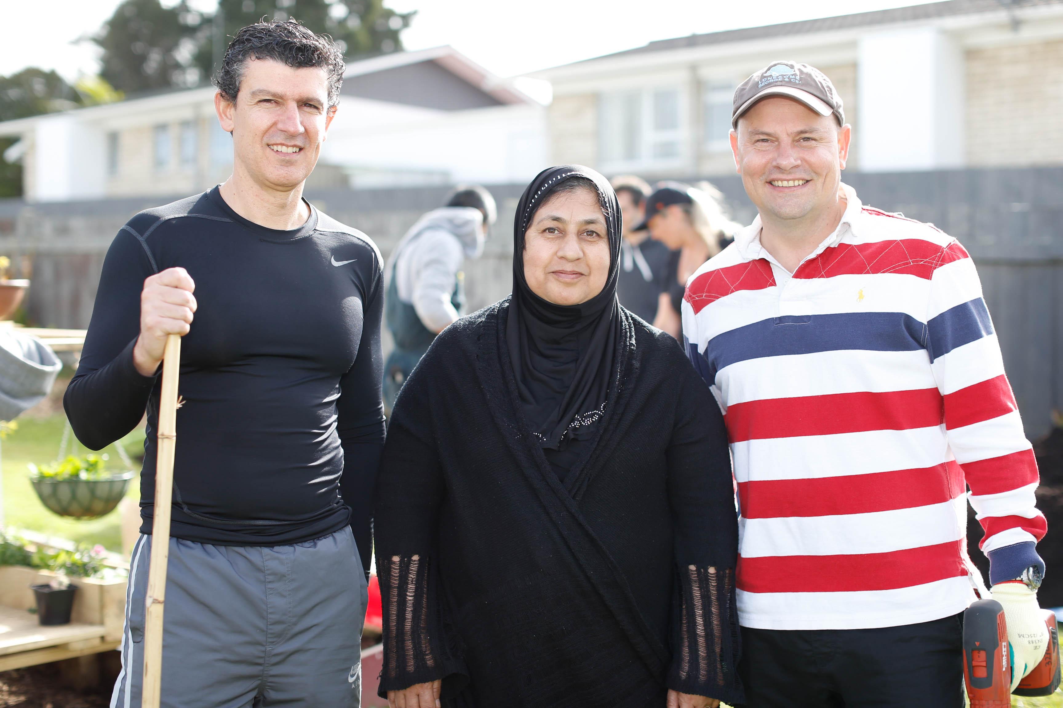 Rodrigo Smith, Hasina Dilawari, Martin Smith