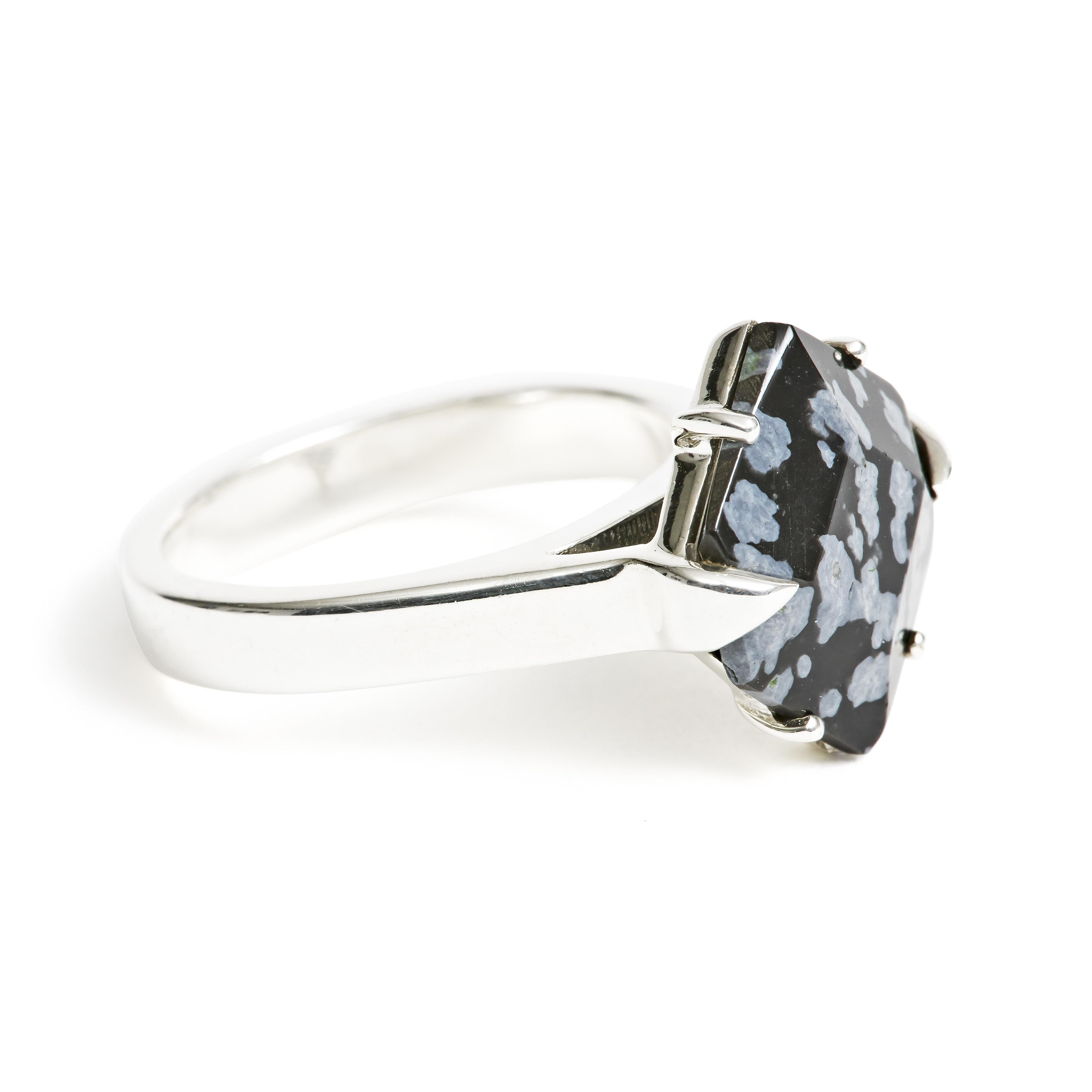 obsidian-silver-ring