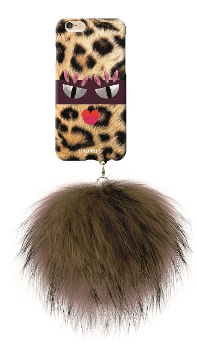 Iphoria 2 - Monster au Portable Angry Leo with Brown Racoon Pom Pom Case - iPhone 6