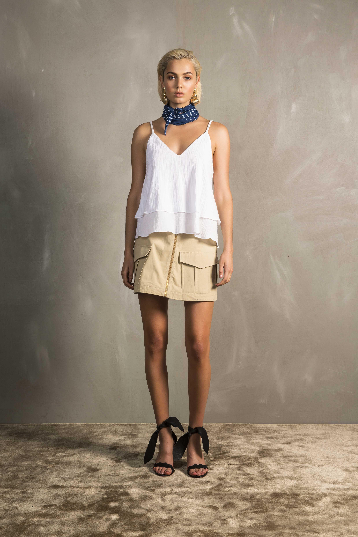 RUBY Aria Camisole, Ragazzo Miniskirt & Vita Scarf