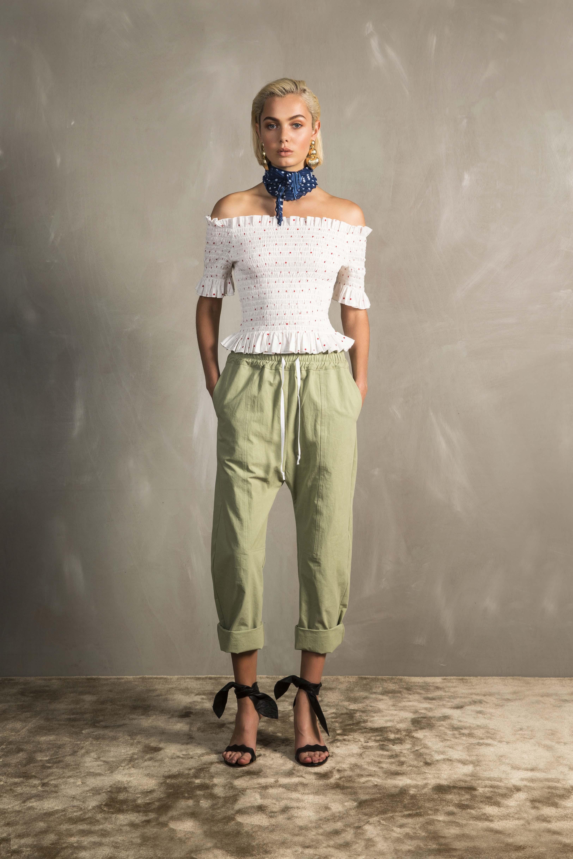 RUBY Bambi Shirred T-Shirt, Ragazzo Pant & Vita Scarf
