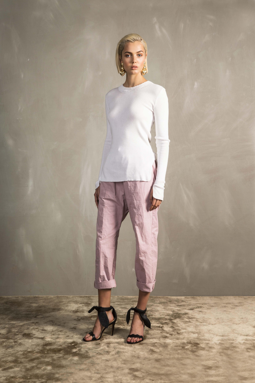 RUBY Raffaela Crochet Longsleeve & Ragazzo Pant_Pink_
