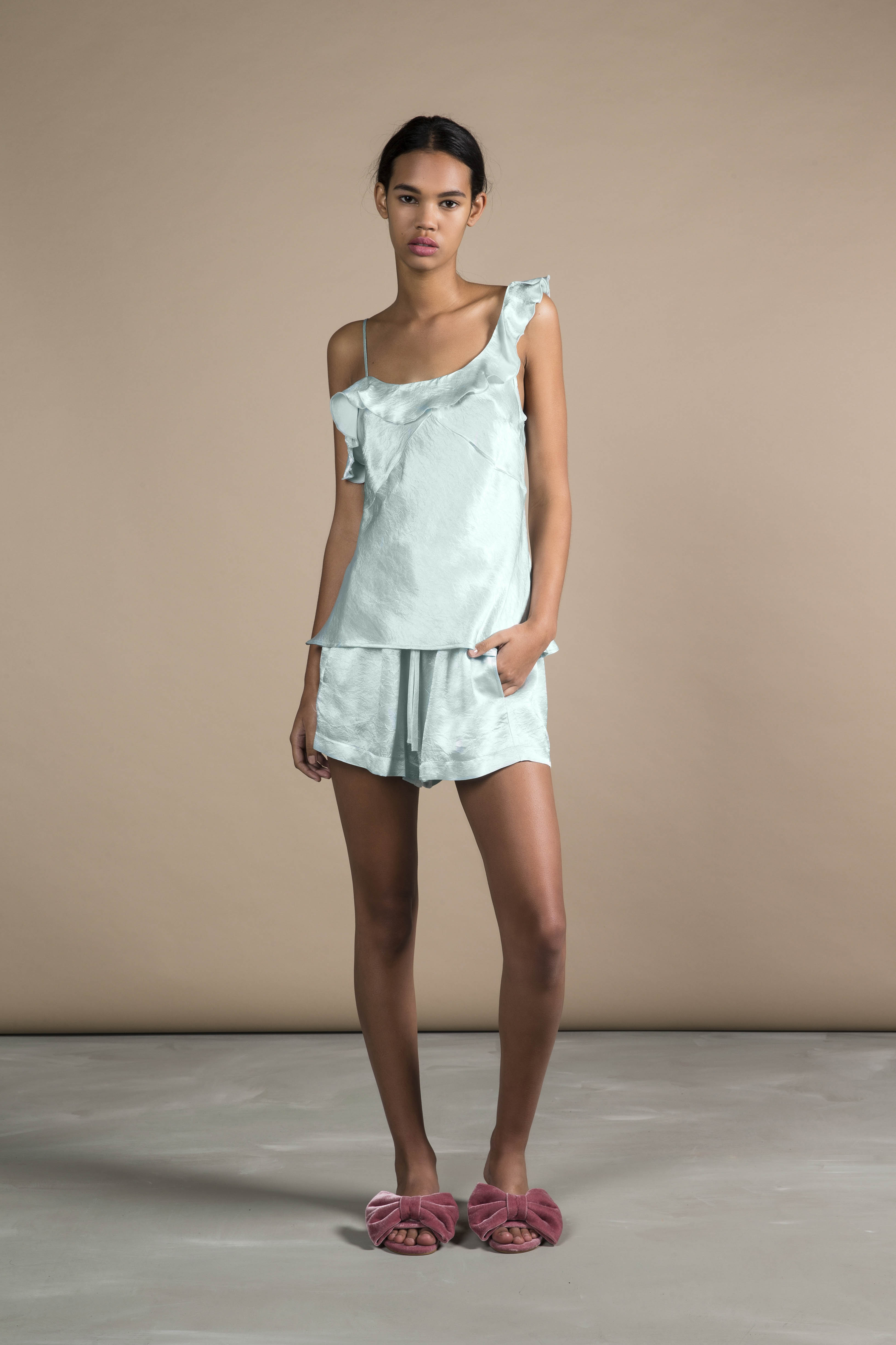 RUBY Lucia Ruffle Camisole & Lucia Shorties