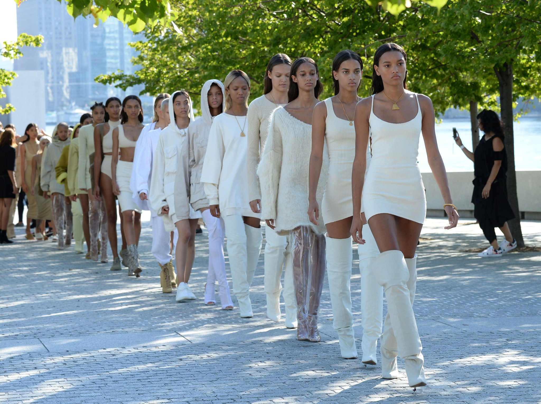 Kanye West's Season 5 show is off to a rocky start - West scheduled the show without consulting with the CDFA, and it clashed with Assembly and Marchesa.  The CDFA responded by refusing to put West's show on the official schedule, although West has since changed his show time to avoid clashes.