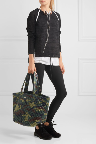 MZ Wallce Quilted Camo Tote Bag