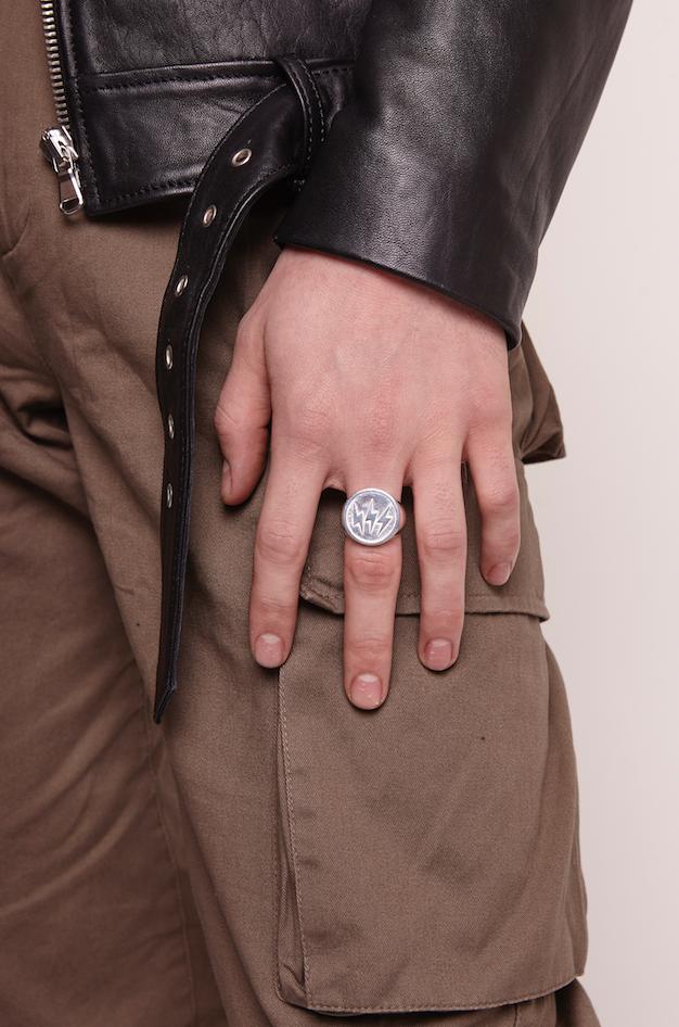 Triple Bolt Sovereign Ring