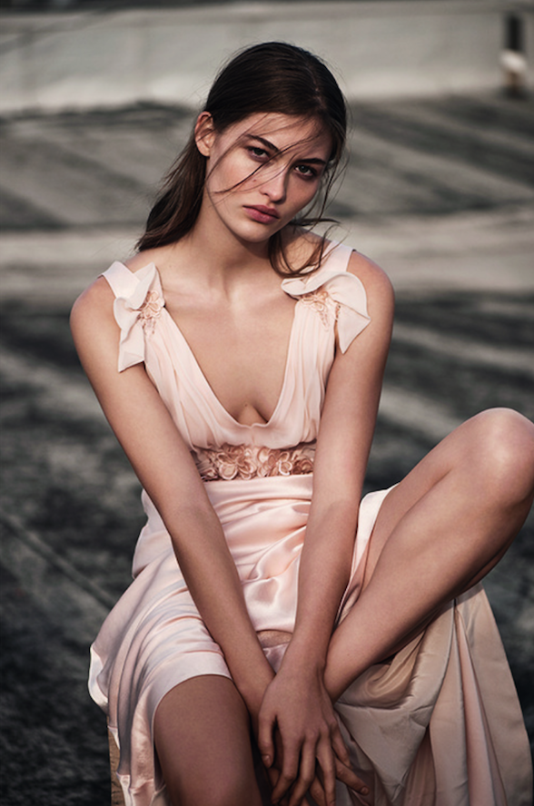 Topshop now does weddings!  The high street brand launched their first bridal collection.