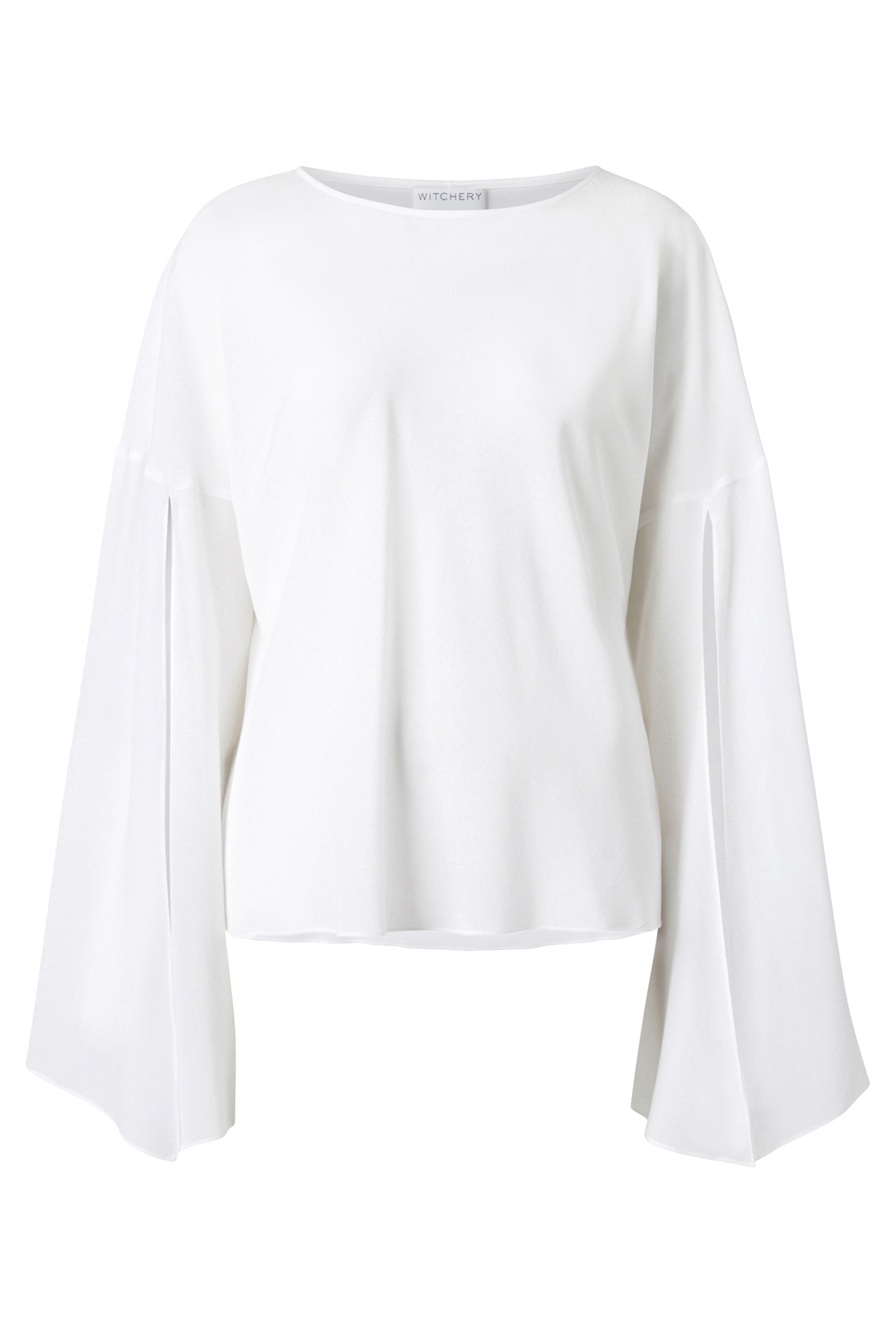 60206086_Witchery OCRF Silk Bell Blouse, RRP$229.90