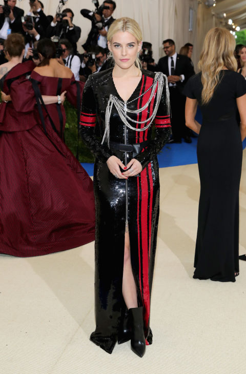 Riley Keough wearing Louis Vuitton