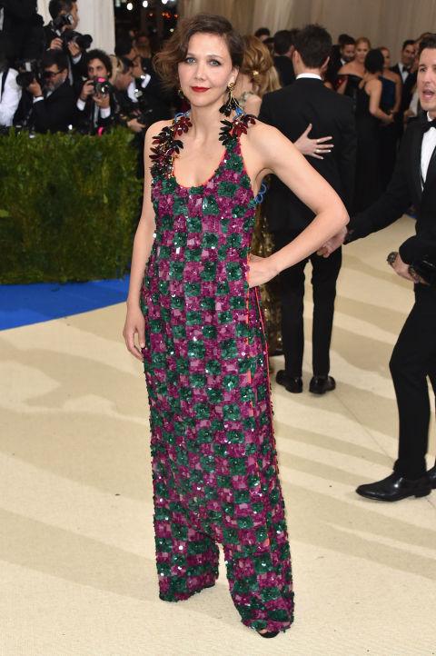 Maggie Gyllenhaal wearing Marni