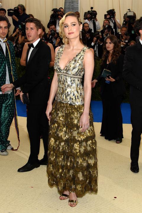 Brie Larson wearing Chanel
