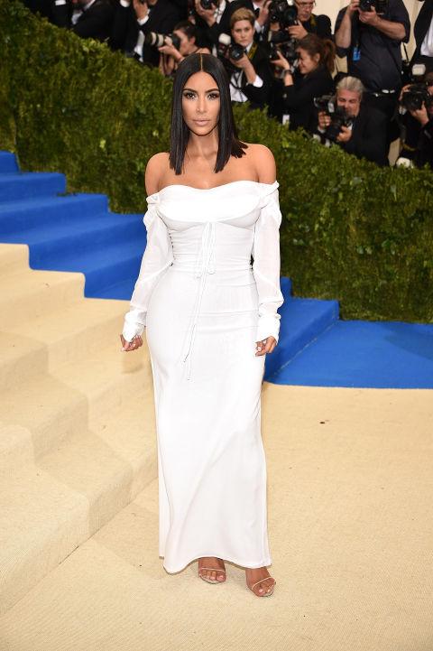 Kim Kardashian West wearing Vivienne Westwood