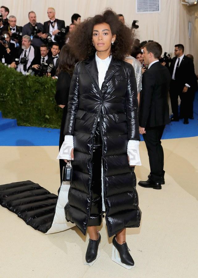 Solange Knowles wearing Thom Browne