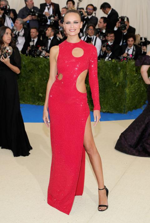 Natasha Poly wearing Michael Kors Collection