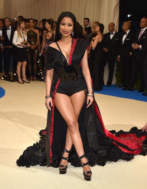 Nicki Minaj wearing H&M.