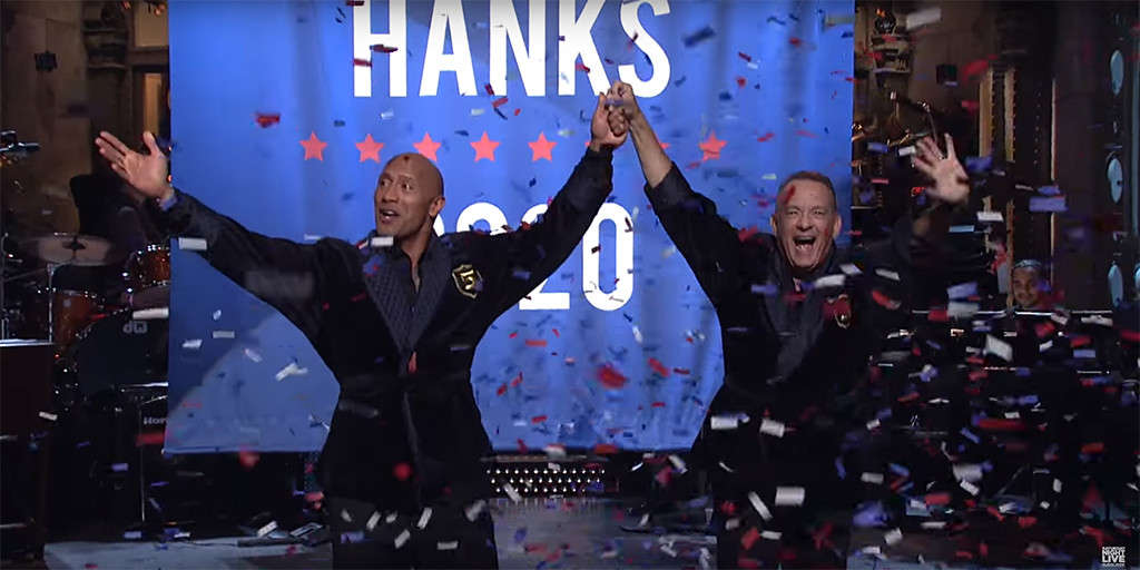 Dwayne Johnson announced that he's going to run for president in 2020.