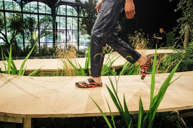 For the first time in centuries, Birkenstock put on a runway event at Paris Fashion Week.