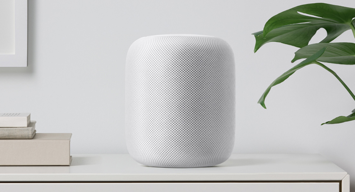 Apple's latest major product release is the HomePod speaker.