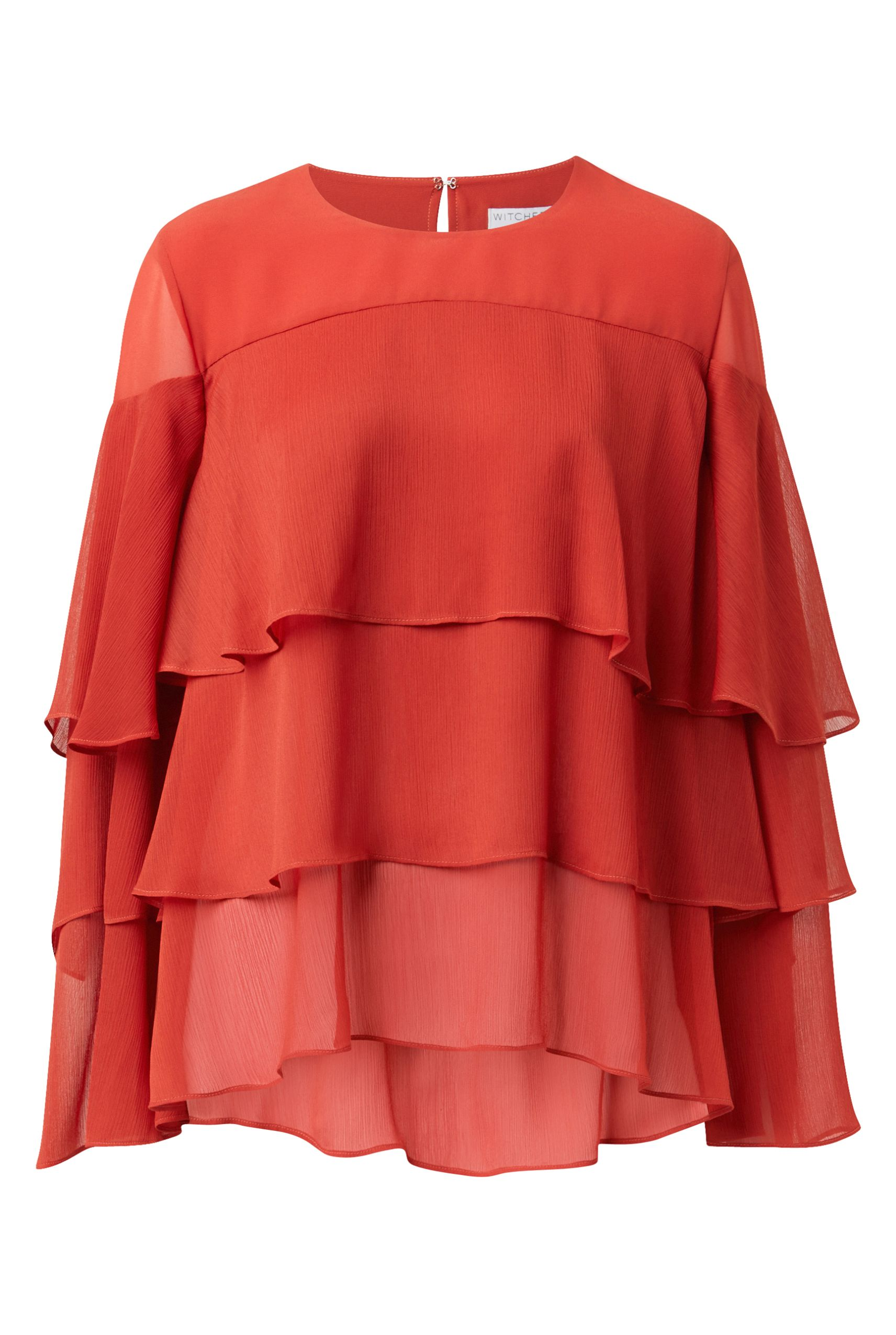 60212372_Witchery Layer Frill Blouse, RRP$169.90