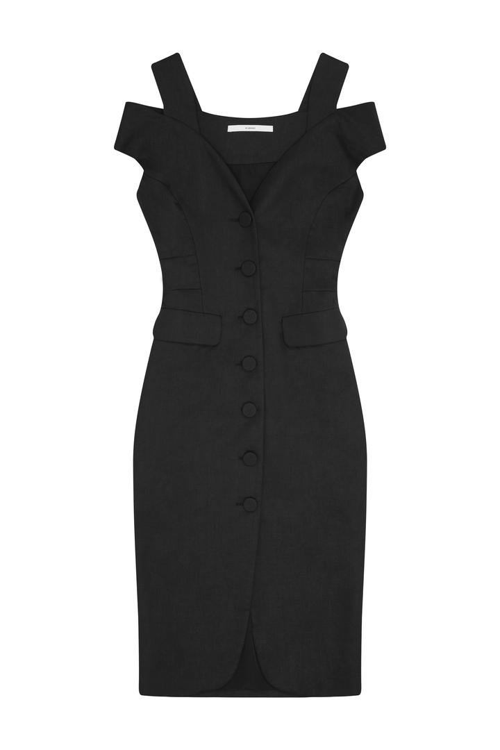72dpi-239134b642-69.-BY-JOHNNY,-Structure-Button-Down-Dress-Black,-650,-www.byjohnny.com.au