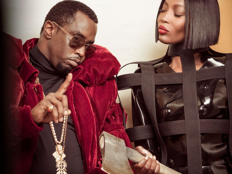 Pirelli has teased its 2018 calendar, featuring Naomi Campbell and Sean 'Diddy' Combs.