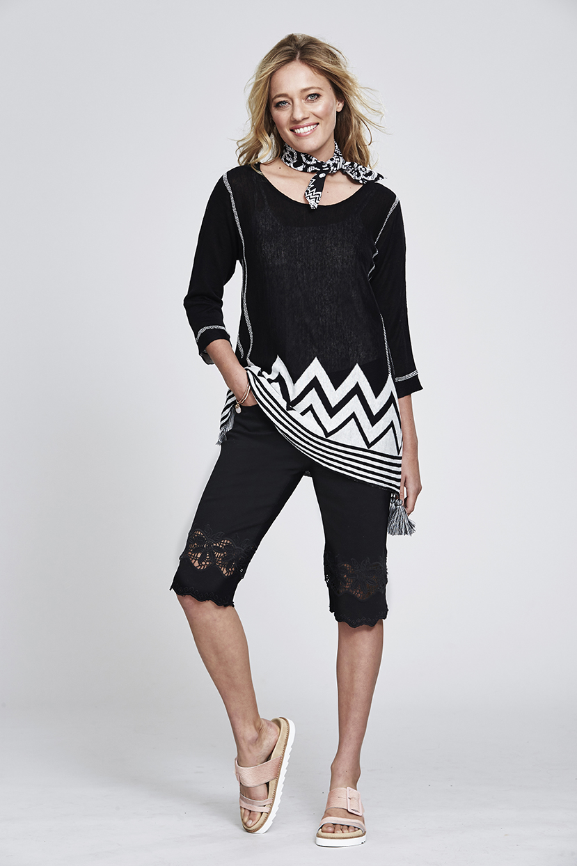 MS109 Zig Zag Jumper MS96 Laser Cut Short