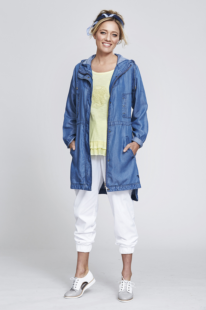 MS93 Always Ola Coat MS176 Mandala Top MS140 Jogger Pant