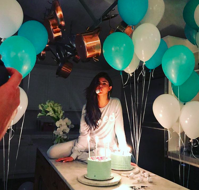 Selena Gomez celebrated her 25th birthday