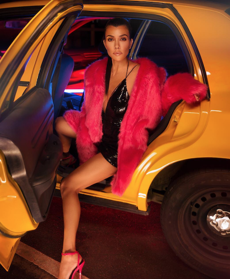 Kourtney Kardashian designed a collection for fast fashion brand, Pretty Little Thing, which will be released on October 26th.