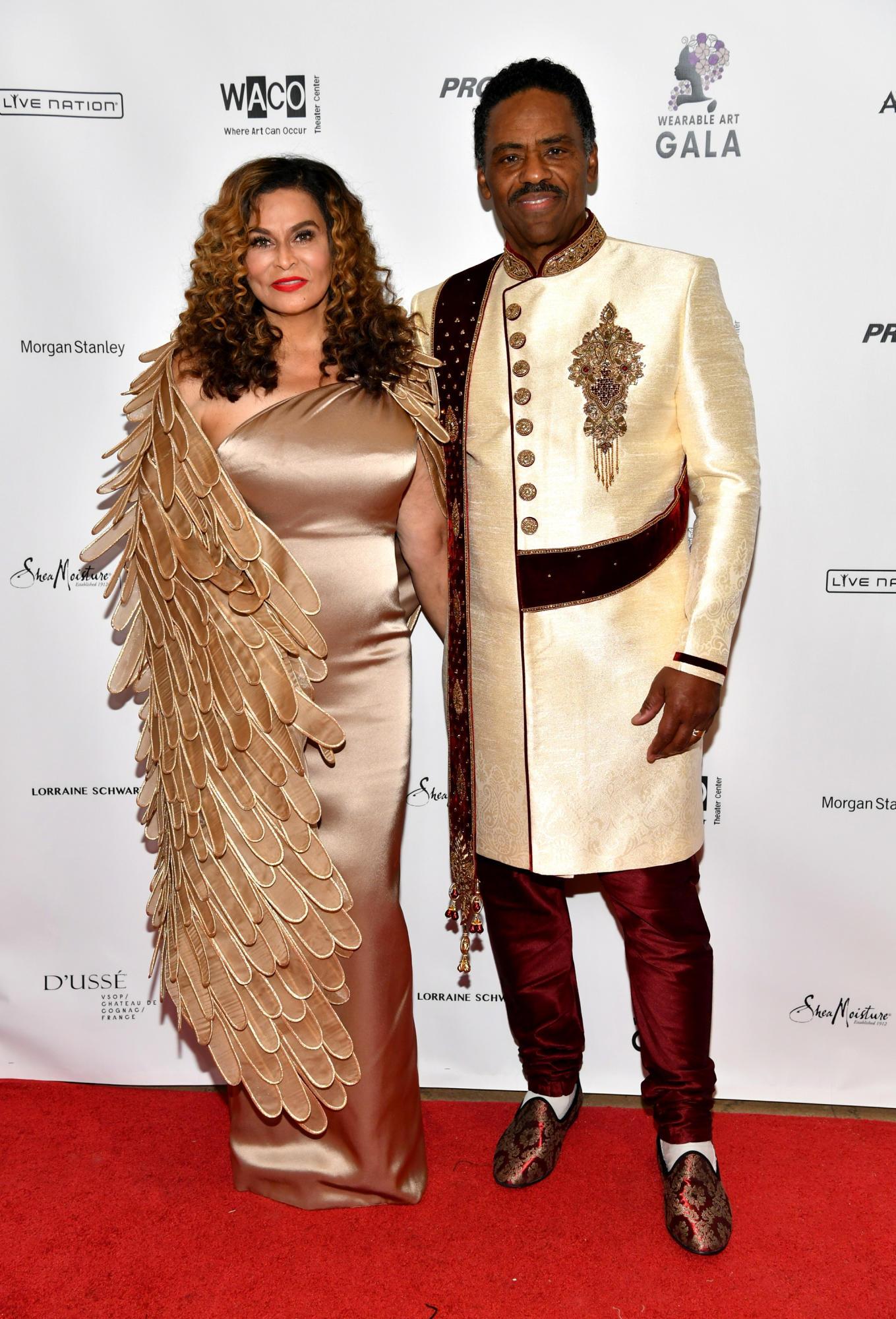 Tina Knowles and husband Richard Lawson