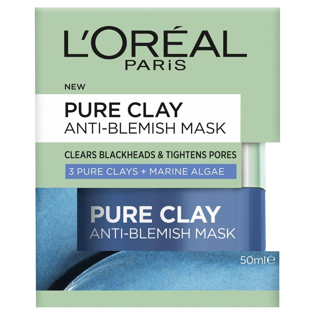 L'Oréal Paris Pure Clay Anti-Blemish Mask - RRP $19.99 (1)_preview