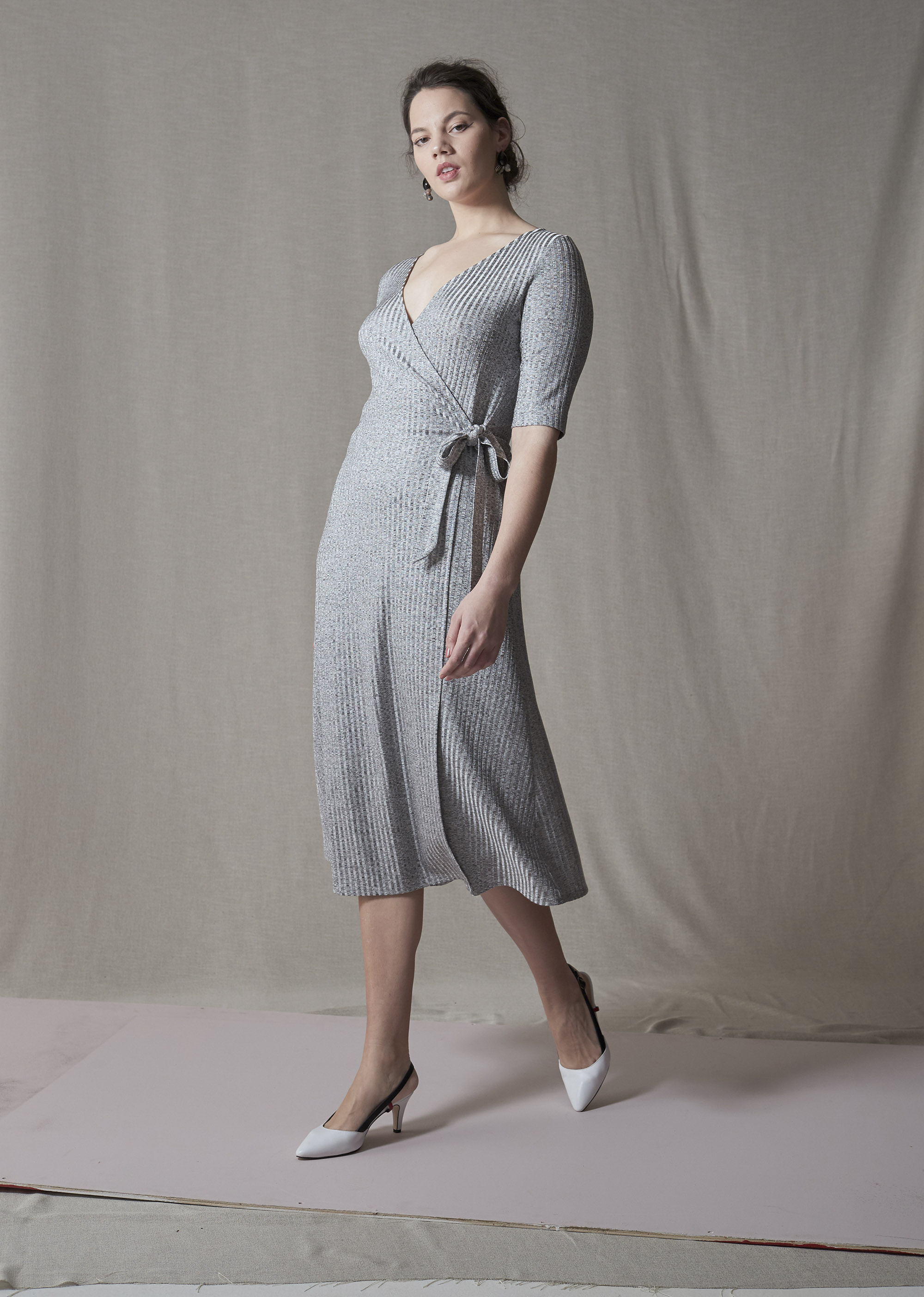 Liam Aro Wrap Dress